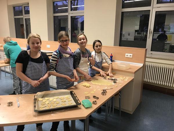 Kekse backen für einen guten Zweck