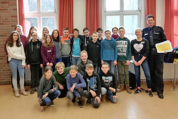 Schulprojekt 'Wir sind stark'