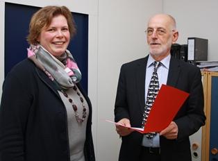Ernennung zur Oberschulrektorin