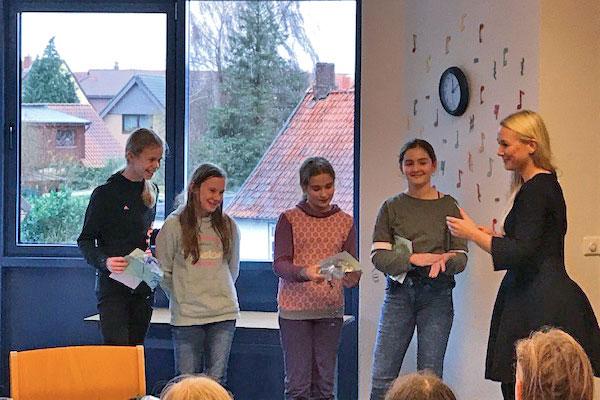 Vorlesewettbewerb der Oberschule Harpstedt
